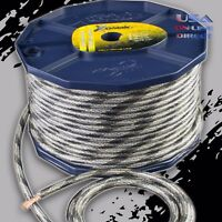 4 Gauge 80ft SNAKESKIN Power Ground OFC Wire Copper  Marine Grade Cable 4 AWG US