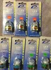 TDJ Promar Submersible Strobe Light Water Activated LED 300hr Blue Green Red