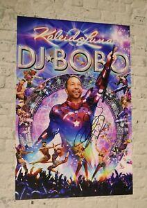 ORIGINAL Autogramm von DJ Bobo. pers. gesammelt. 20x30 FOTO. 100 % ECHT