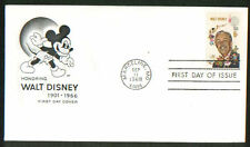 1355  Walt Disney Mickey Mouse House of Farnam Cachet FDC Unaddressed 1968 (D30)