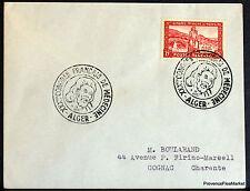 ALGÉRIE 1955 LETTRE CONGRES DE MEDECINE   ENVELOPPE 165CA146