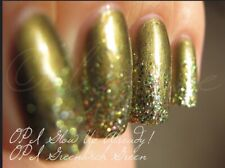 NEW! OPI NAIL POLISH Nail Lacquer in GLOW UP ALREADY! ~ Glitter