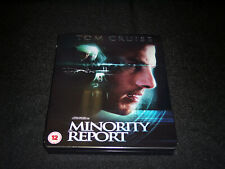 Minority Report (Glossy Finish) Zavvi Blu-Ray Steelbook [Sealed + Mint]