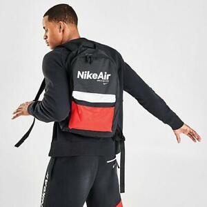 Nike Heritage Backpack Black Air School Bag Kids Unisex
