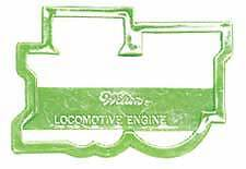 Wilton LOCOMOTIVE TRAIN Perimeter Cookie Fondant Icing Cutter Cut Out Sugarcraft