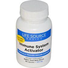Life Source Basics (WGP Beta Glucan), Immune System Activator, 500 mg, 60 Capsul