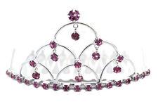 Kronen und Diademe in Rosa