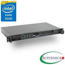 Supermicro SuperServer 5018D-FN8T Xeon D Mini 1U Rackmount,10GbE LAN, SFP+, IPMI