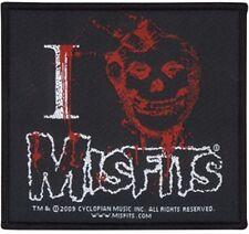 Misfits-I Heart-ricamate/patch-NUOVO #4782