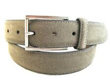 "NEW Allen Edmonds ""SUEDE AVE"" Dress Belt  #17009  Size 34 Grey   (147)"