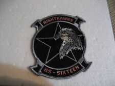"NEW USN HS-16 NIGHTHAWKS SH-3 SEAKING Helicoptar 4.5"" Patch"