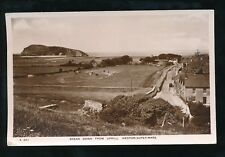 Somerset BREAN DOWN from Uphill Weston used 1952 RP PPC