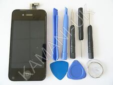 GENUINE HIGH QUALITY LCD DIGITIZER SCREEN REPLACEMENT FOR IPHONE 4S BLACK