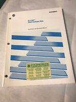 NEW Allen Bradley SLC500 Fixed Hardware Installation Operation Manual 1747-NI001