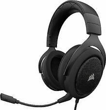 Corsair HS50 Over the Ear Headphones - Black