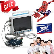 USA Sell, FDA Multiparameter ICU CCU Patient Monitor, ECG+NIBP+SPO2+RESP+TEMP+Pr
