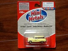 CLASSIC METAL WORKS 1/87 HO 1953 COURIER SEDAN DELIVERY MEADOW GOLD # 30307 F/S