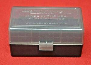 223/556/300 BLACK OUT Ammo Box / Case / Storage 50 Rnd Boxes SMOKE COLOR