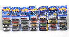 28 pc Hot Wheels Die Cast Dodge Car Lot  No Two Alike 1997 - 2003 Mattel NOC