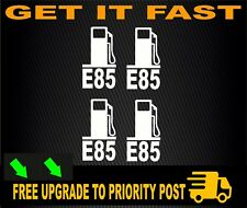 E85 Stickers Decals FUEL LID