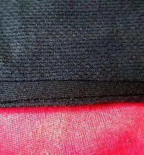 BLACK LOUDSPEAKER GRILL CLOTH MATERIAL Size:  2 METRES x 500 mm. UK MADE
