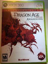 Dragon Age: Origins Awakening (Microsoft Xbox 360, 2010)