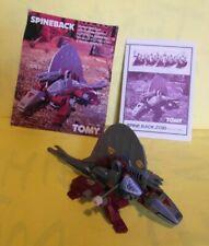 Spineback/Gator vintage 1985 Tomy red Zoid 100% complete