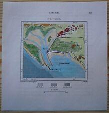 1883 Perron map KARACHI, PAKISTAN (#62)