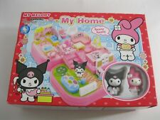 New! My Melody My Home Mini Playset - Sanrio - 2007 + 2 Figures - Hello Kitty