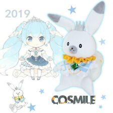 2019 Snow Miku VOCALOID Hatsune Miku Rabbit Plush Doll Toy Cosplay Sa