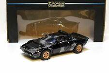 1:18 Sun STAR LANCIA STRATOS STRADALE 1975 BLACK NEW in Premium-MODELCARS