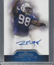 ROBERT MATHIS 2011 TOPPS PRECISION COLTS AUTO