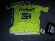 Tinkhoff SAXO BANK specializzata Sportful FLUO AERO Ciclismo in jersey 3XL NUOVO CON ETICHETTA/BGD