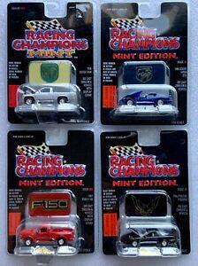 RACING CHAMPIONS PONTIAC FIREBIRD/DODGE VIPER GTS/DODGE RAM/FORD F-150 LOT 0F 4