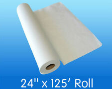 """12 Rolls of Disposable Paper 24"""" X 125' Smooth Crepe White Massage Exam Table"""