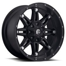 Fuel Hostage D Black Wheel Xmm Lifted Ford F Lug Fits  Ford F  Super Duty