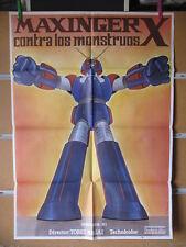 1659    MAXINGER X CONTRA LOS MONSTRUOS MAZINGER / GROIZER