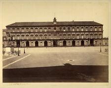 Photo Albuminé Napoli Naples Italie Vers 1870/80 # 1