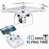 Drone with HD Camera FPV WiFi Live Video 40 Min LONG FLIGHT TIME RC Quadcopter