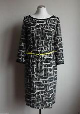 LUISA CERANO Damen Kleid Abendkleid schwarz  Gr. 38 Neu  100% Seide