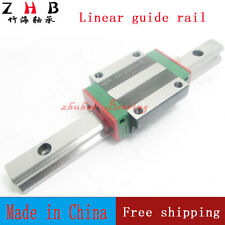 2pcs linear rail HGR20 L2000mm cnc part and 4pcs HGW20CA linear guide rail block