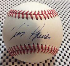 Tim Raines Montreal Expos signed NL MLB baseball ball HOF