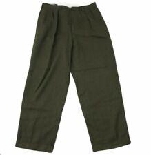 Polo Ralph Lauren Men's Olive Green Stretch Classic Fit Dress Pants Sz 34 X 29