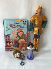 Disney Hunchback Of Notre Dame Captain Phoebus Doll, Esmeralda & Quasimodo Toys