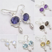 925 Sterling Silver Earrings, Factory Direct Affordable Wedding Jewelry NEW