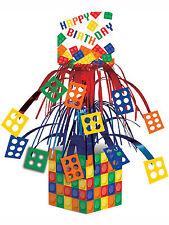 LEGO ispirati Blocco Festa Di Compleanno Lamina Tavolo caratteristica principale Decorazione