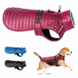 Dog Winter Jacket Reflective Pet Coat Waterproof Winter Vest Lightweight Apparel
