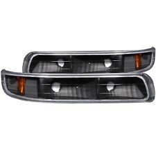 Anzo Parking/signal Lights Black For 99-02 Chevy Silverado 1500/2500 #511065