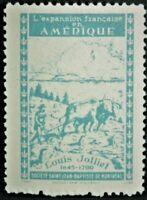 Societe Saint Jean Baptiste 1949 LOUIS JOLLIET EXPANSION Canada (GUM) F/VF SSJB