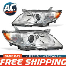 20-9087-00-1-20-9088-00-1 Pair Headlight Assembly for 10-11 Toyota Camry LE XLE